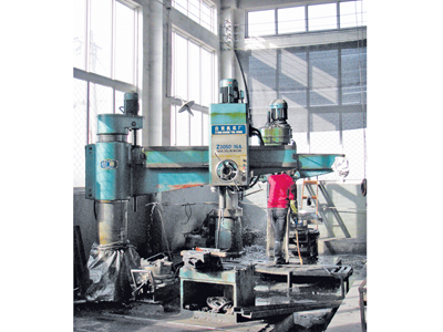 Large drilling machine