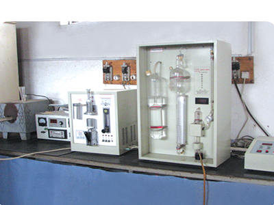 Carbon sulfur combined analyzer
