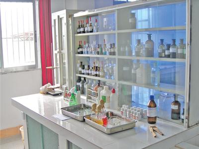 One corner of the laboratory